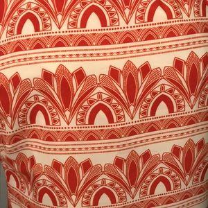Modcloth Dresses - Orange Patterned Dress